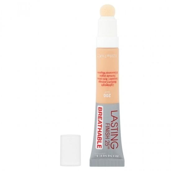 Rimmel Lasting Finish 25Hr Breathable Concealer - 200 Light