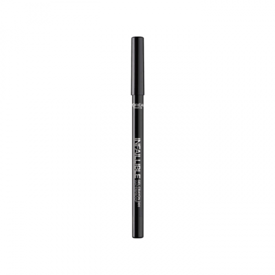 L'Oreal Infallible Gel Crayon 24Hr Eyeliner - 001 Back to Black