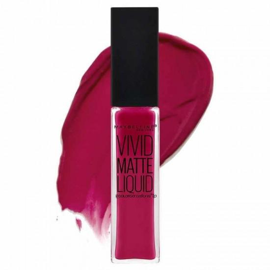 Maybelline Color Sensational Vivid Matte Liquid Lip Gloss - 40 Berry Boost