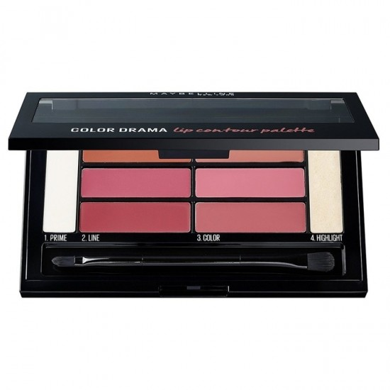 Maybelline Color Drama Lip Contour Palette - Blushed