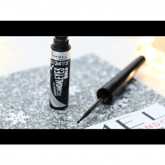 Rimmel Scandal Eyes Bold Eye Liner Waterproof - Black