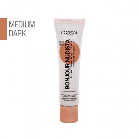 L'Oreal Bonjour Nudista Awakening Skin Tint - Medium Dark 30ml