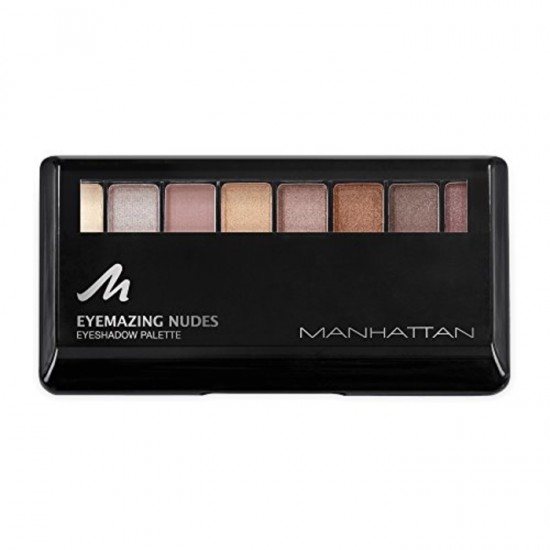 Manhattan Eyemazing Nude Eyeshadow Palette - Chocolate in a Box
