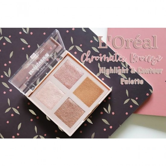 L'Oreal Chromatic Bronze Highlight and Contour Palette