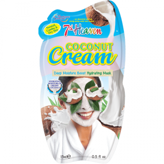 7th Heaven Montaganese Creamy Coconut Mask For Normal to Dry Skin