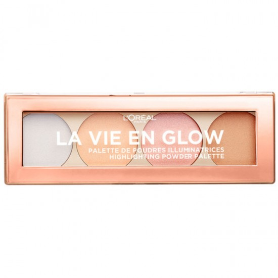 L'Oreal La Vie En Glow Highlighting Palette - 02 Cool Glow