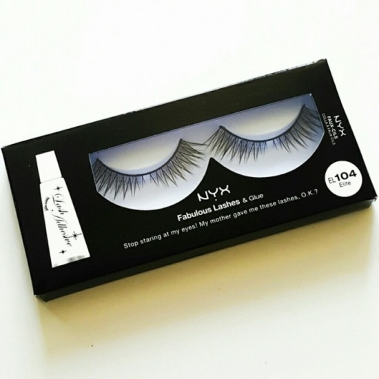 NYX Fabulous Lashes and Glue - Elite