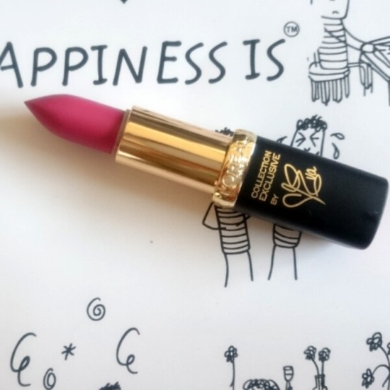 L'Oreal Exclusive Collection Lipstick - Eva's Delicate Rose