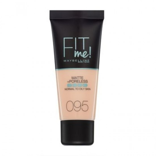 Maybelline Fit Me Matte and Poreless Foundation - 95 Fair Porcelain