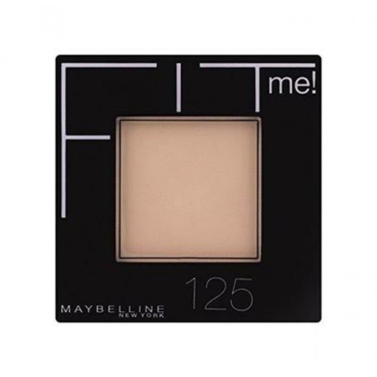 Maybelline Fit Me Set and Smooth Powder - 125 Nude Beige