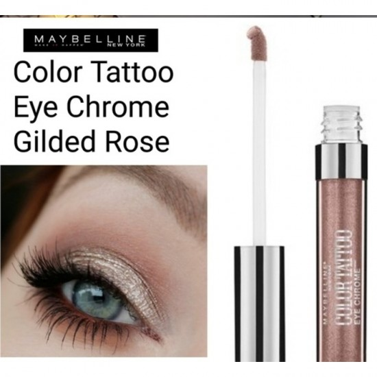 Maybelline Color Tattoo Eye Chrome - 500 Gilded Rose