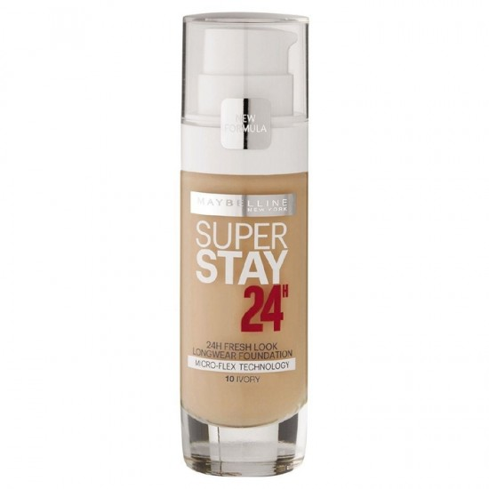 Maybelline Superstay 24Hr Foundation - 10 Ivory