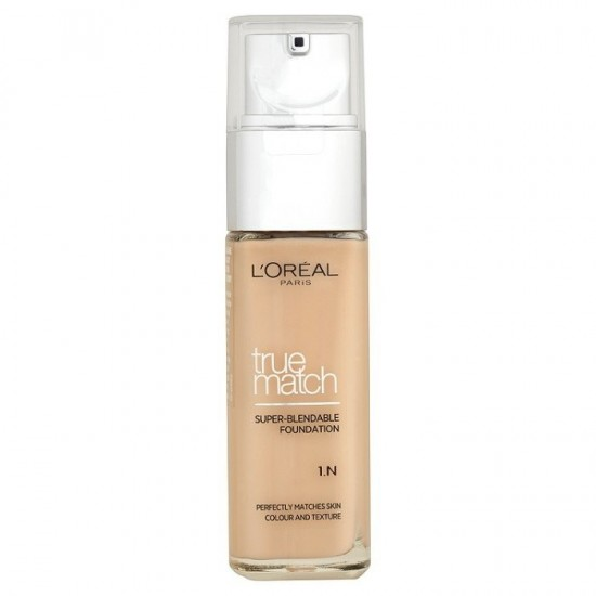 L'Oreal True Match Super Blendable Foundation - 1.N Ivory
