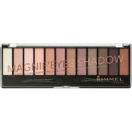 Rimmel Magnifeyes 12 Eyeshadow Palette - 002 London Nudes Calling