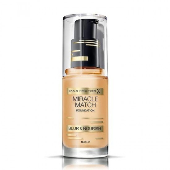 Max Factor Miracle Match Foundation - 47 Nude