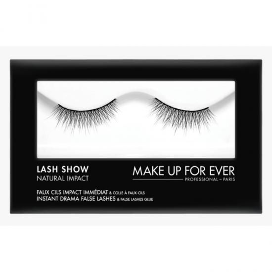 Makeup Forever Lash Show Natural Impact With Lash Glue - N-104
