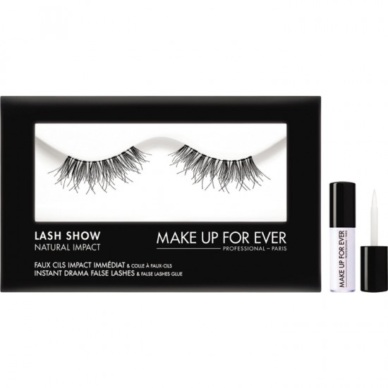 Makeup Forever Lash Show Natural Impact With Lash Glue - N-105