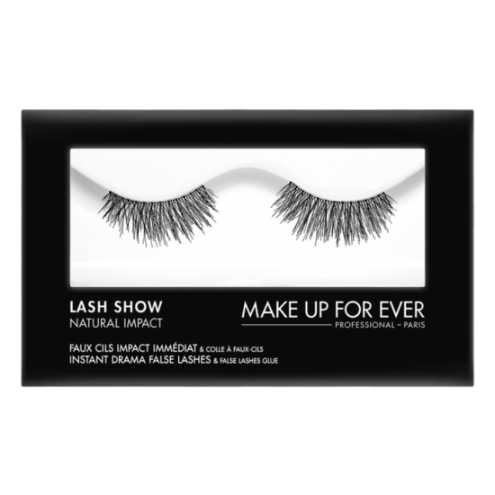 Makeup Forever Lash Show Natural Impact With Lash Glue - N-102