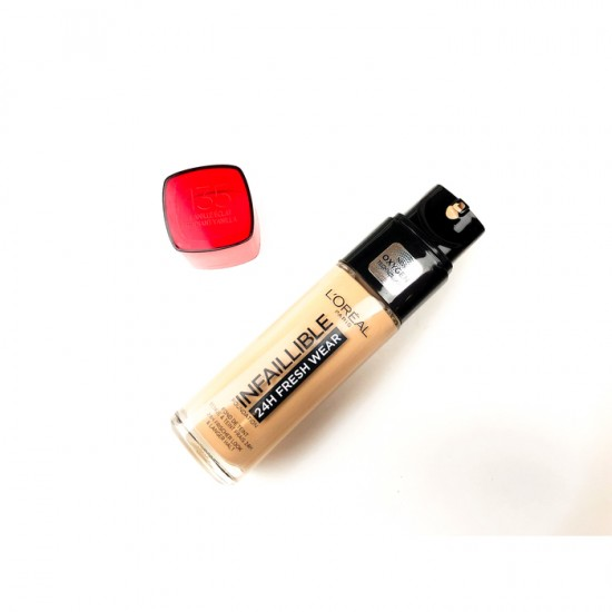 L'Oreal Infallible 24Hr Fresh Wear Foundation - 135 Radiant Vanilla