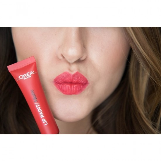 L'Oreal Lip Paint Matte - 204 Red Actually