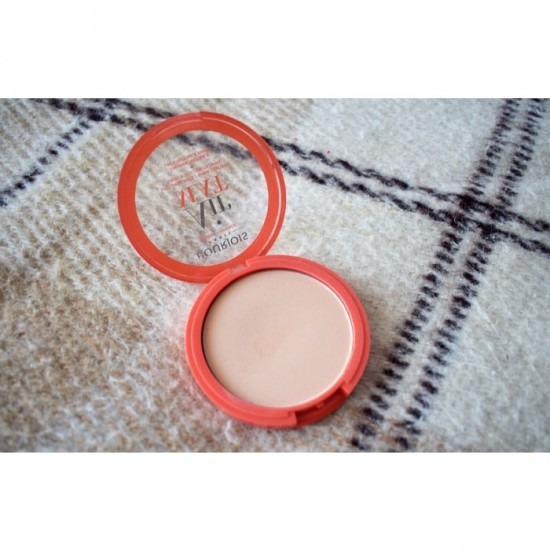 Bourjois Air Mat Matte Finish Compact Powder - 1 Rose Ivory