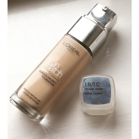 L'Oreal True Match Super Blendable Foundation - 1.R/1.C Rose Ivory