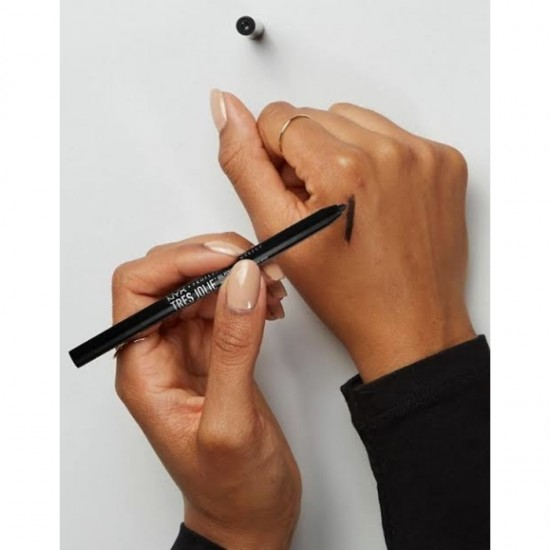 NYX Tres Jolie Gel Pencil Liner - Pitch Black