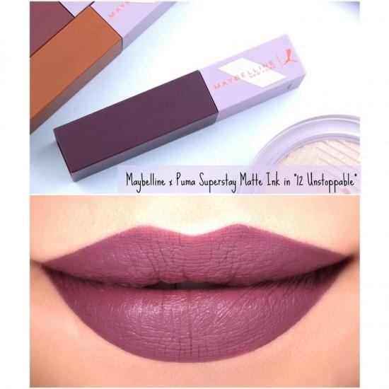 Maybelline Superstay Matte Ink Lip Color - 12 Unstoppable