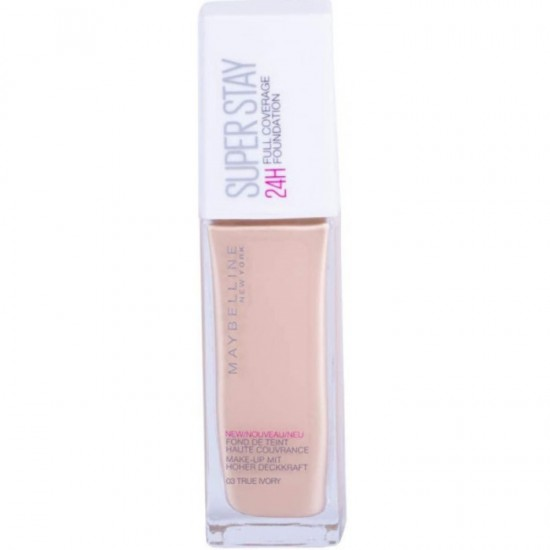 Maybelline Superstay 24Hr Foundation - 03 True Ivory