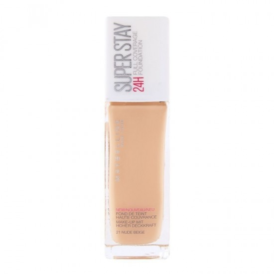 Maybelline Superstay 24Hr Foundation - 21 Nude Beige