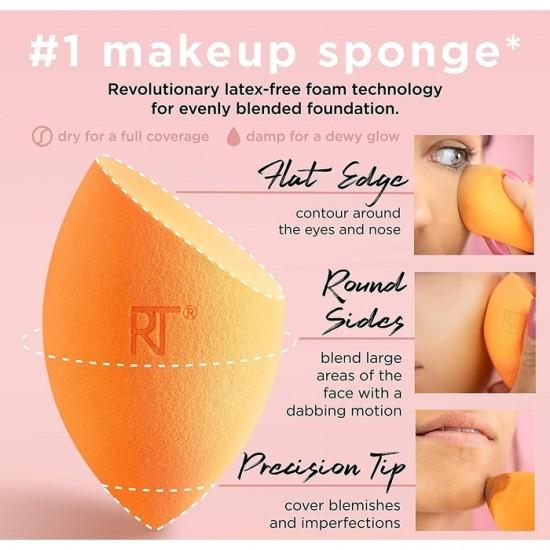 Real Techniques - 4 Miracle Complexion Sponges