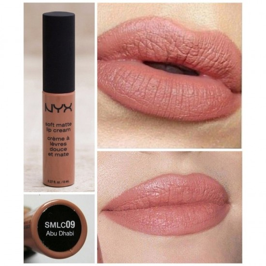 NYX Professional Makeup Soft Matte Lip Cream - 09 Abu Dhabi