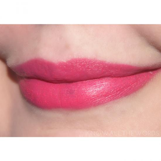 Maybelline Lip Studio Color Blur - 10 Fast and Fuchsia