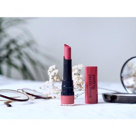 Bourjois Rouge Velvet The Lipstick - 04 Hip Hip Pink