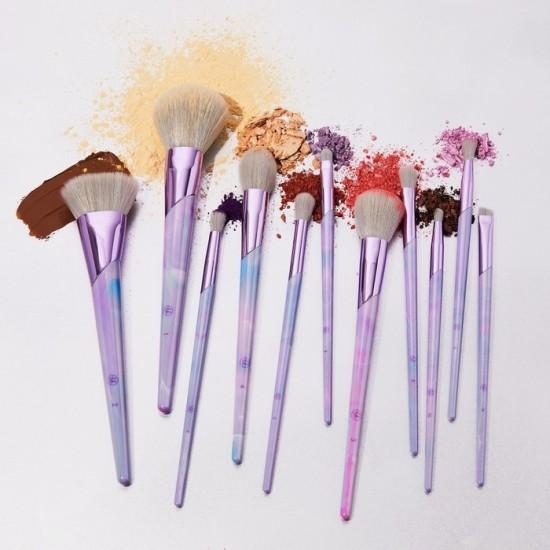 BH Cosmetics Lavender Luxe - 11 Pieces Brush Set