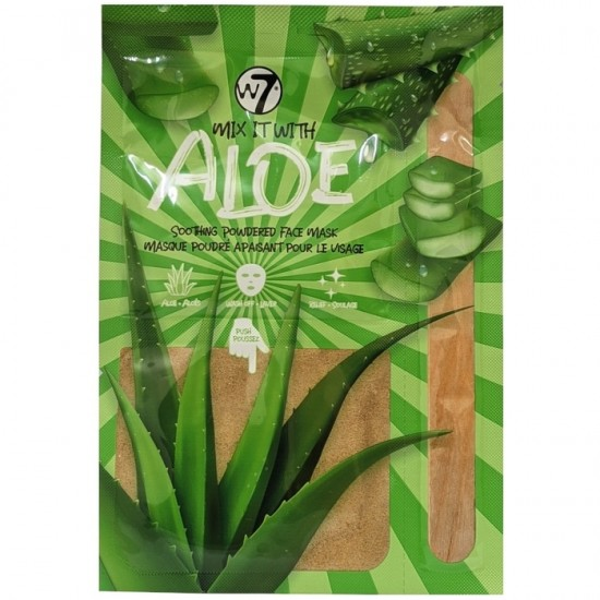 W7 Mix It With Aloe Soothing Powdered Face Mask