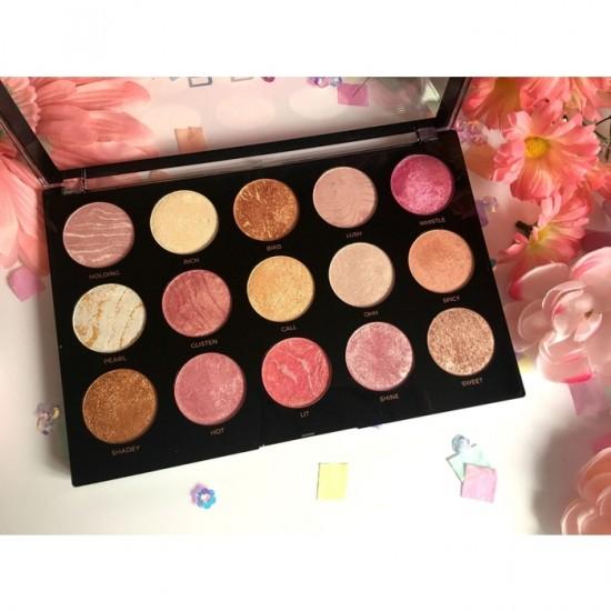 Makeup Revolution Pro HD Amplified Highlighter Palette - Get Baked