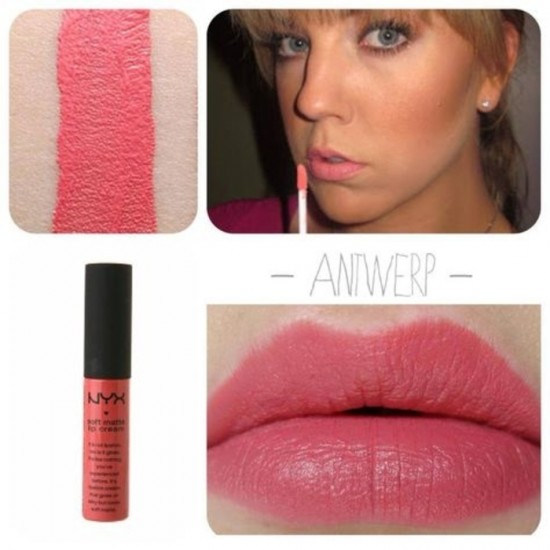 NYX Professional Makeup Soft Matte Lip Cream - 05 Antwerp