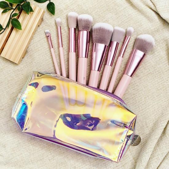 BH Cosmetics Opallusion Dreamy Makeup - 8 Pieces Brush Set