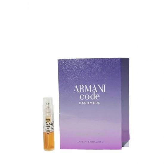 Armani Code Cashmere EDP Travel Size