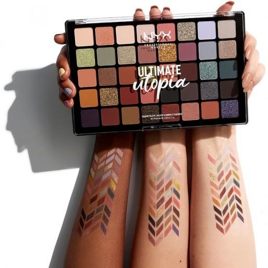 NYX Pro Makeup Ultimate Utopia Eyeshadow Palette