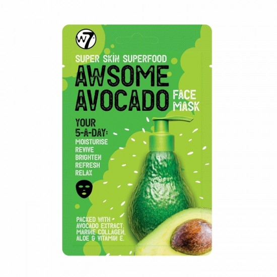 W7 Super Skin Superfood Awsome Avocado Face Mask