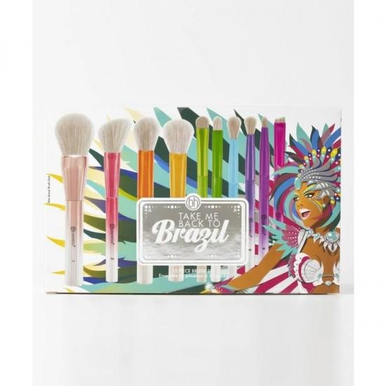 BH Cosmetics Take Me Back To Brazil - 10 Pieces Brush Set