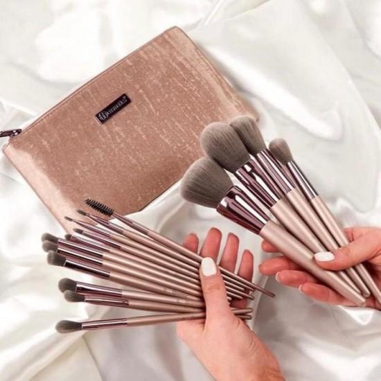 BH Cosmetics Lavish Elegance - 15 Piece Brush Set