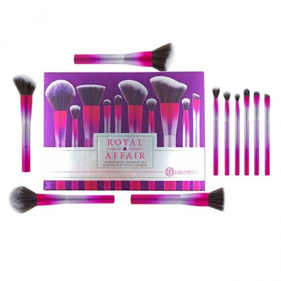 BH Cosmetics Royal Affair - 10 Piece Brush Set
