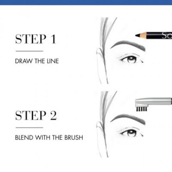 Bourjois Sourcil Precision Eyebrow Pencil - 01 Noir