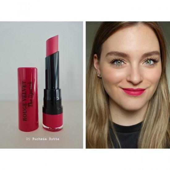 Bourjois Rouge Velvet The Lipstick - 09 Fuchsia Botte