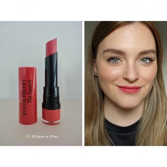 Bourjois Rouge Velvet the Lipstick - 05 Brique-a-Brac