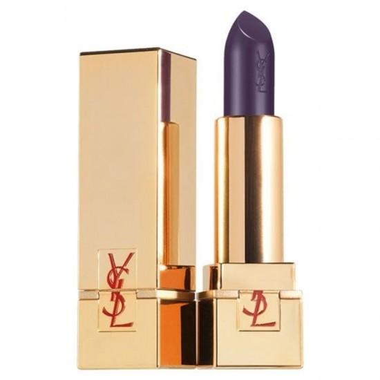 YSL Rouge Pur Couture Golden Lustre Lipstick - 101 Violet Singulier