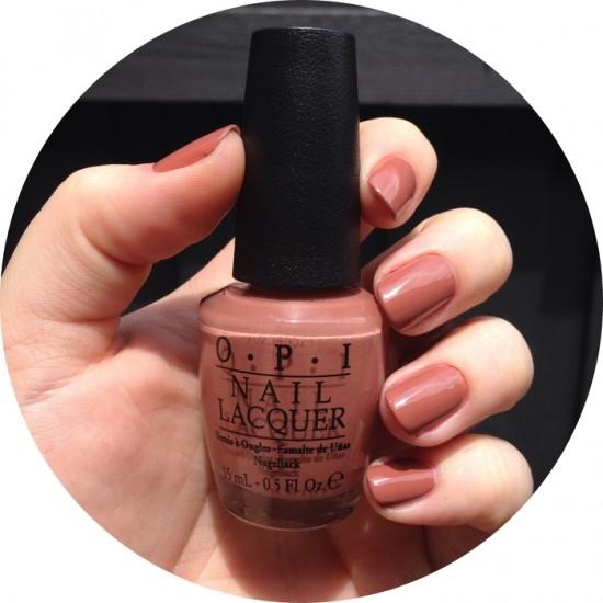 OPI Nail Color - Chocolate Moose